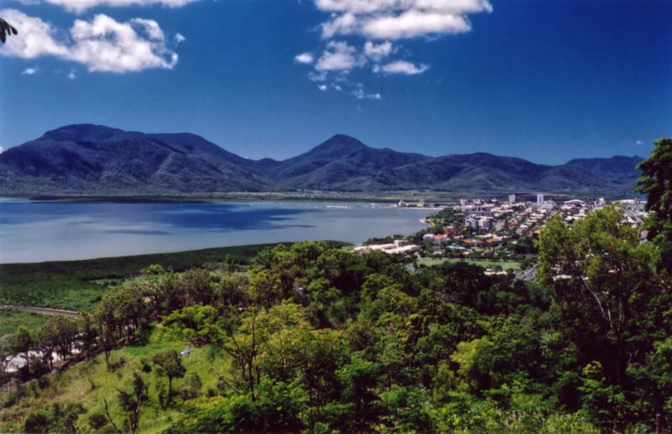 """21   """"A view of Cairns, Australia from the north.  Gateway to the Great Barrier Reef"""""""