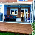Bifold Doors Glass roof conservatory