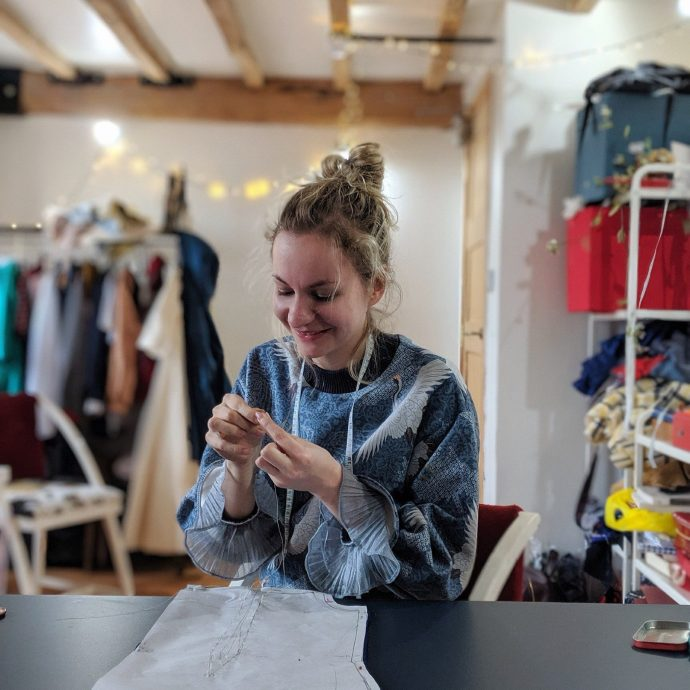 circular fashion sustainable clothing daines atelier