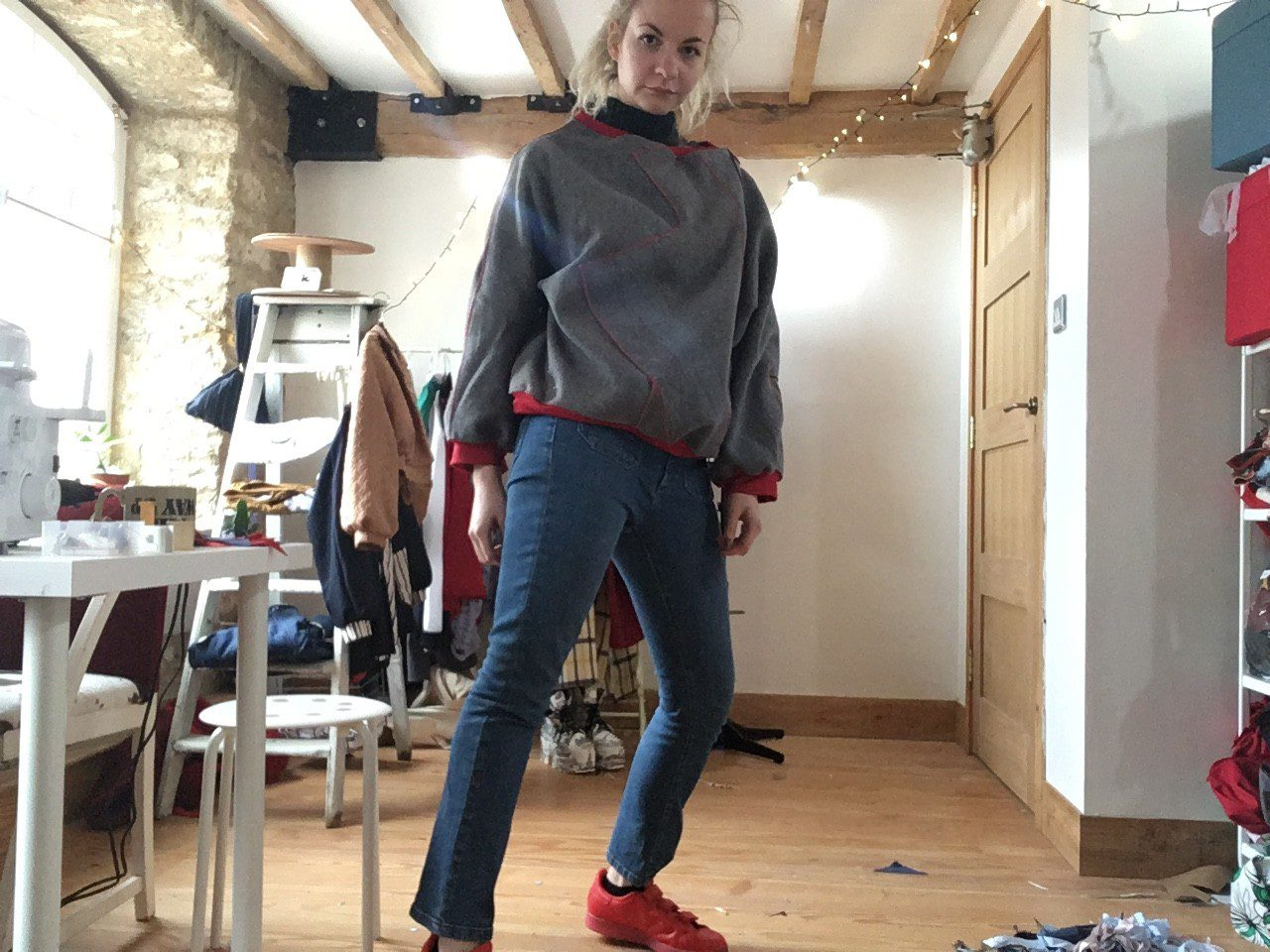 sustainable clothing, fashion image, sustainable brand, reclaimed materials