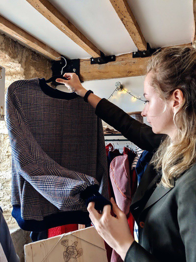 Quality Checks, Small Brand, Small Business, Sustainable Brand, Vintage Material
