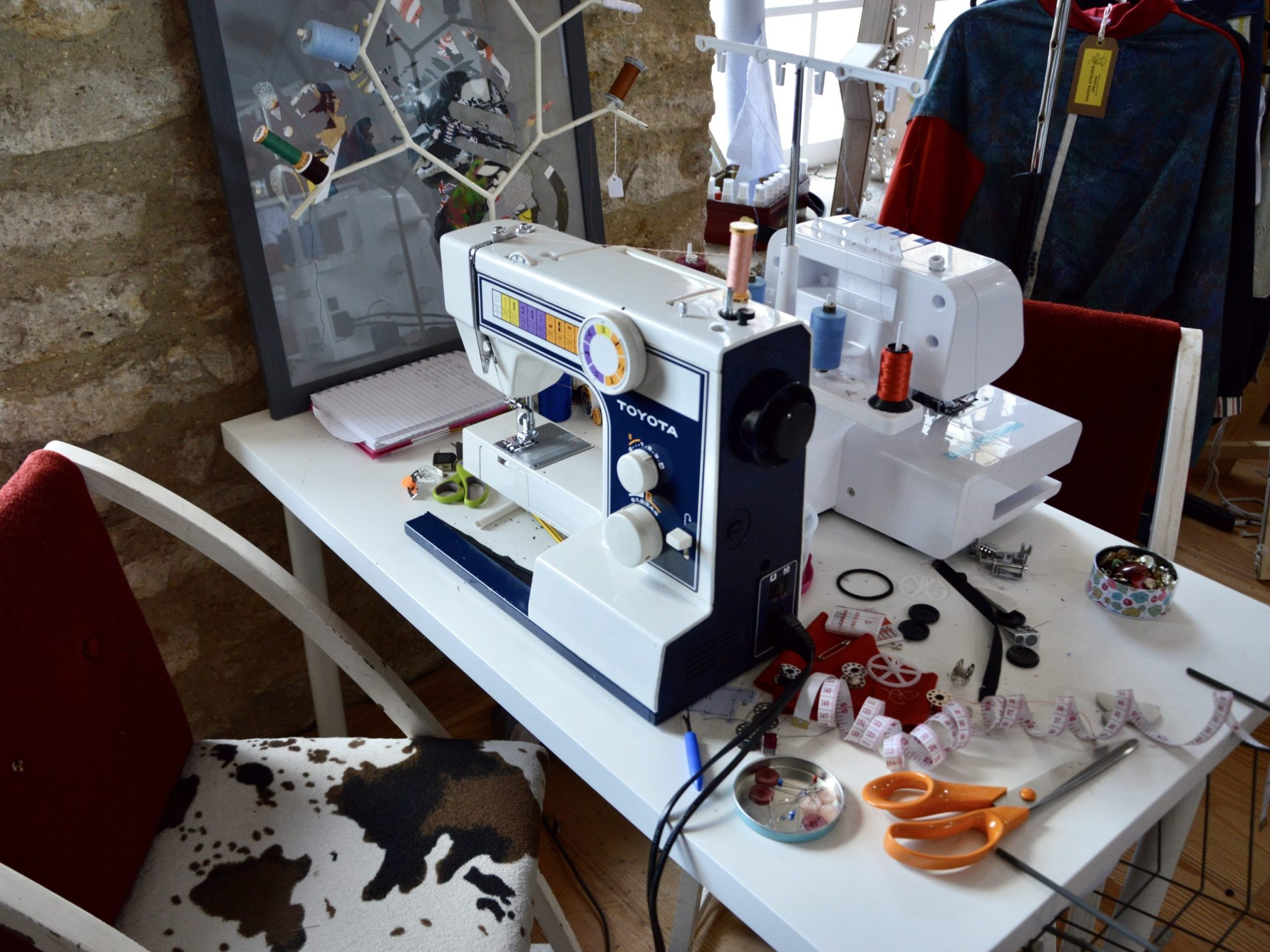 sustainable brand, eco fashion, reclaimed material, one of a kind, silk mill studios, frome, somerset