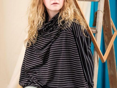 Black Striped Deadstock Jersey Quarantee