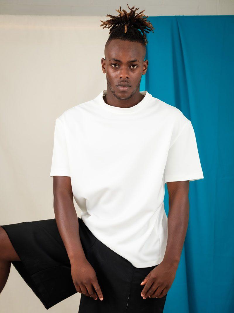 Oversized White Tee sustainable streetwear unisex edgy fashion wardrobe staple
