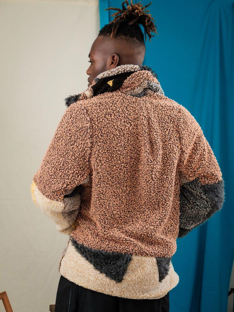 urban street teddy coat unisex oversized circular fashion uk
