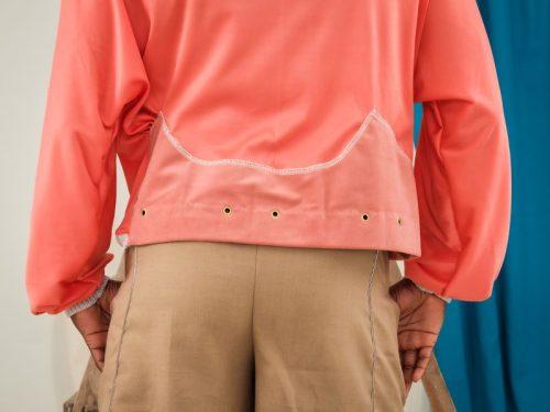 upcycled jumper reprurposed clothing sustainable fashion