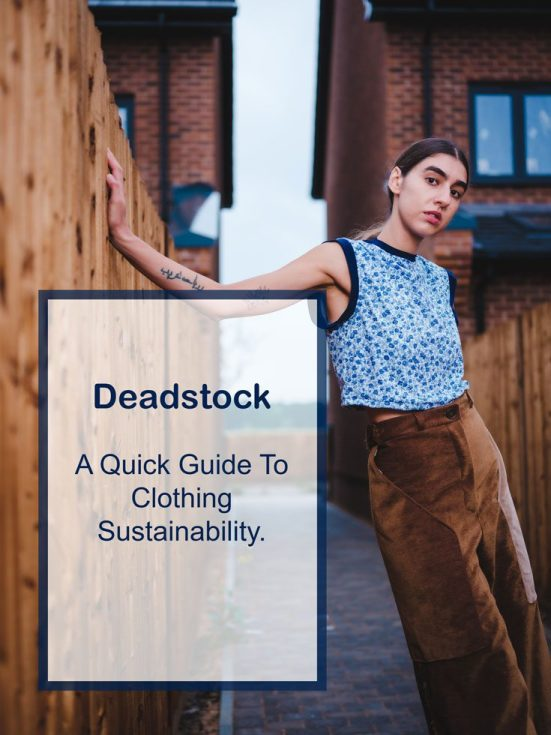 deadstock guide pinterest sustainability writing