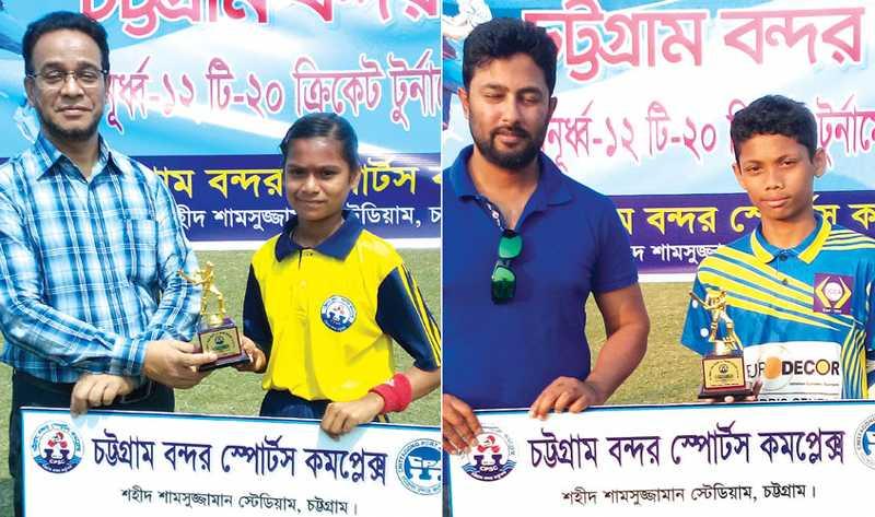 বন্দর অনূর্ধ্ব-১২ টি-২০ ক্রিকেটে ২টি খেলার নিষ্পত্তি