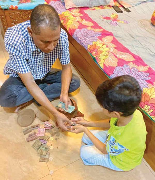 করোনায় পথপ্রদর্শক শিশু আওয়াদ