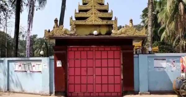 চুরির আশঙ্কায় বান্দরবানে ৩শ' বছরের পুরনো বুদ্ধমূর্তি সিলগালা