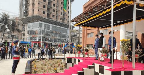চট্টগ্রামে নতুন এসপি ভবন উদ্বোধন করলেন স্বরাষ্ট্রমন্ত্রী
