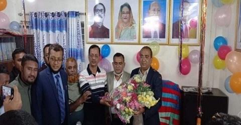 দৌলতখানে ইউনিয়ন পরিষদ কার্যালয় উদ্বোধন এমপি মুকুল