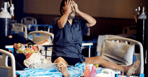 বিপর্যস্ত ভারতে নতুন আতঙ্ক ব্ল্যাক ফাঙ্গাস, ৯০ জনের মৃত্যু