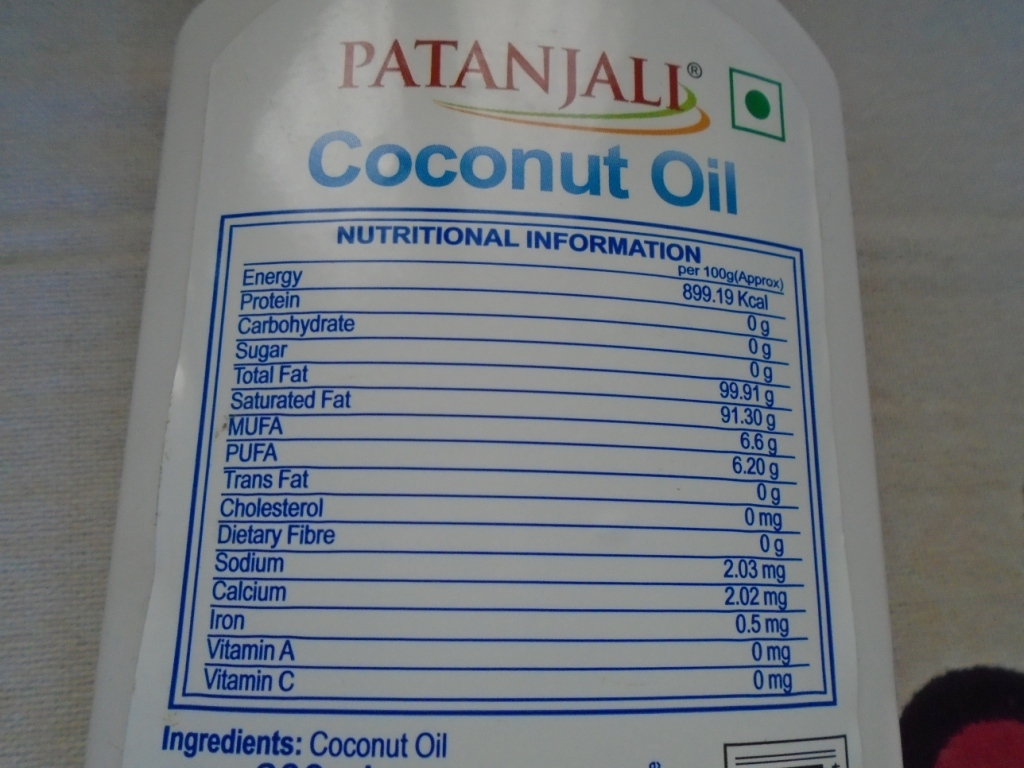 Patanjali Coconut Oil Review