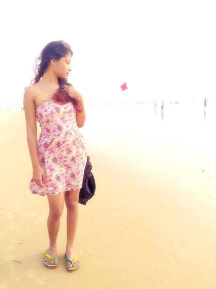 Strapless Beach Dress