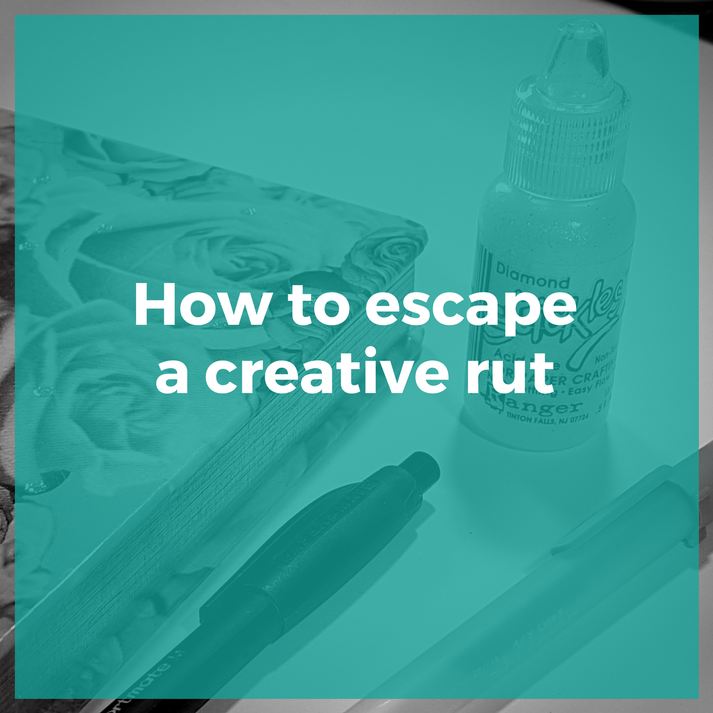 How to escape a creative rut
