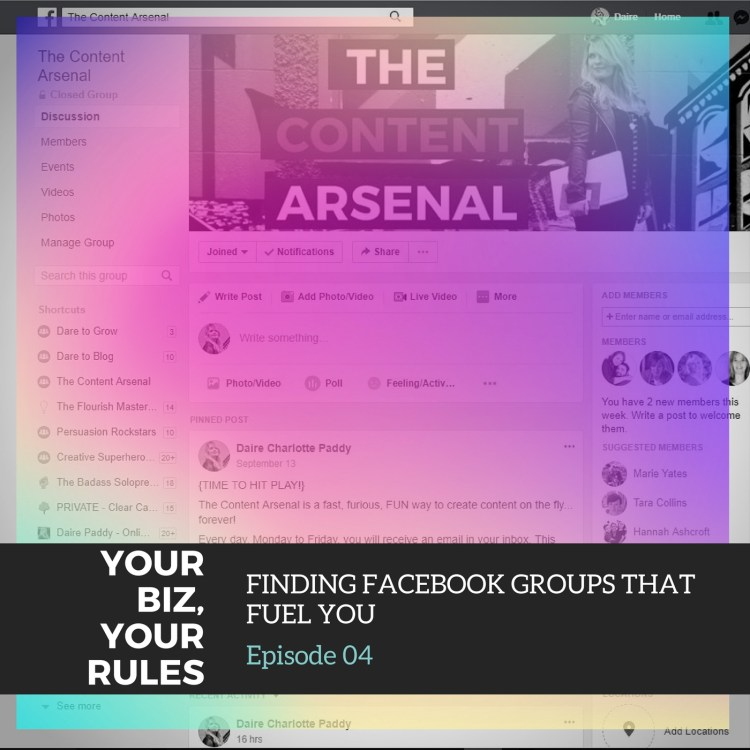 ep 4 facebook groups that fuel you