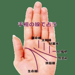 手相の七大線