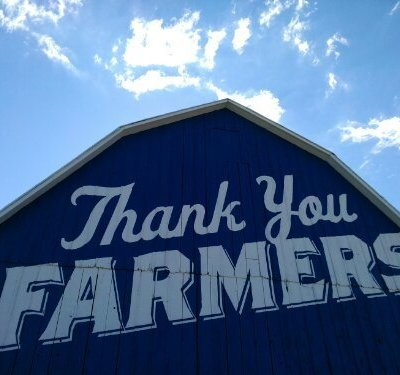 Thank you Culver's! Butter Burgers & a Big Blue Barn!