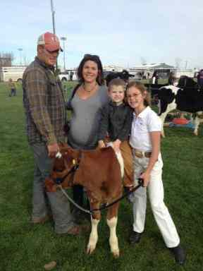 Dairy Calf Abuse Video, Family caring about their cattle