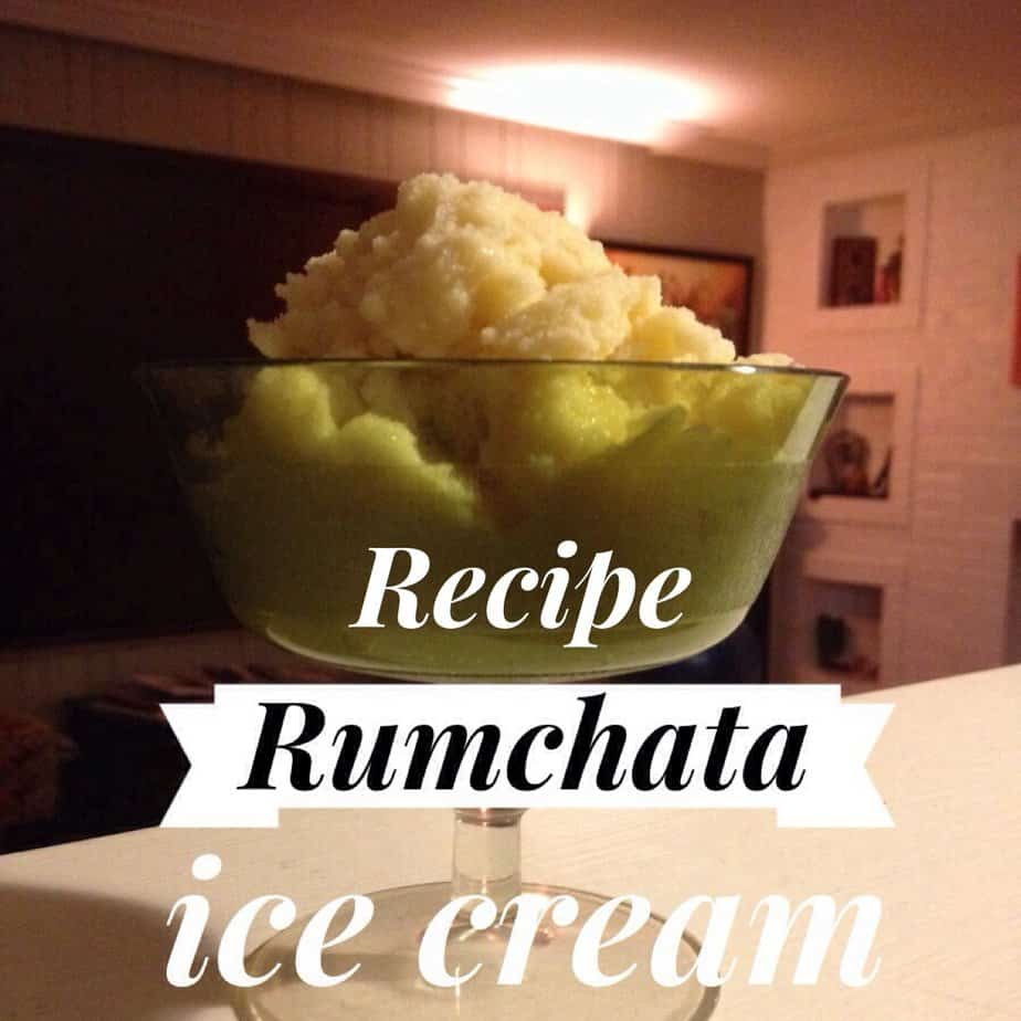 Rumchata snow ice cream recipe nondairycarrie dairy carrie rumchata snow ice cream recipe ccuart Gallery