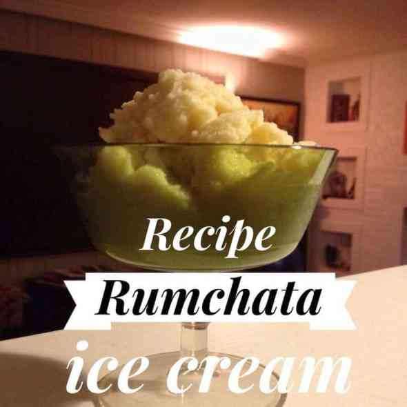 Recipe RumChata Snow Ice Cream