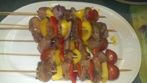 Chicken Shish Kebabs