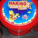Haribo Tubs of little bags