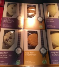 Lazy Day Foods - Choc Chip Shortbread, Ginger Snaps and Shortbread