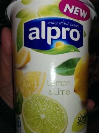 Alpro Lemon and Lime