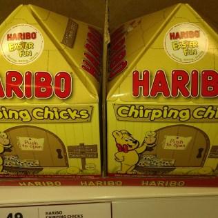 Haribo Chirping Chicks