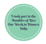 Bumbles of Rice Linky