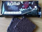 Kallo Belgian Dark Chocolate Rice Cakes Ingredients