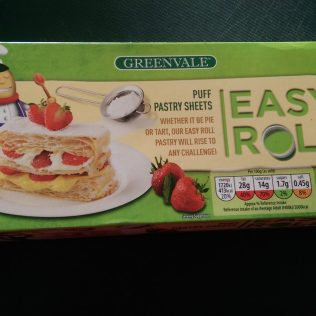 Greenvale Easy Roll Puff Pastry