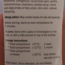 Strawberry Sorbet Ingredients