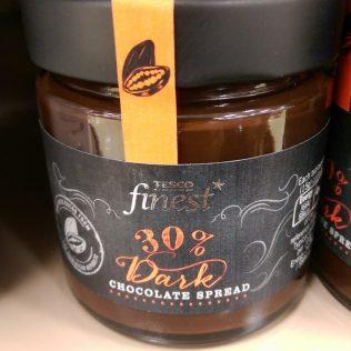 Tesco Finest 30% Dark Chocolate Spread