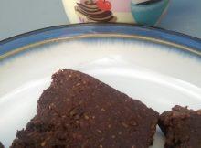 No Bake Healthy Brownies