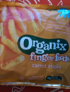 Carrot Sticks Finger Food