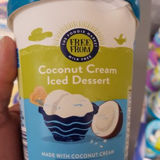 Coconut Cream Iced Dessert