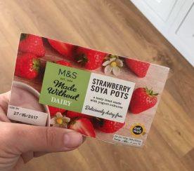 Strawberry Soya Pots