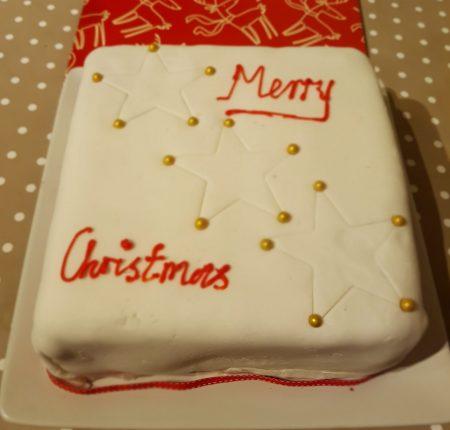 Dairy Free Gluten Free Christmas Cake