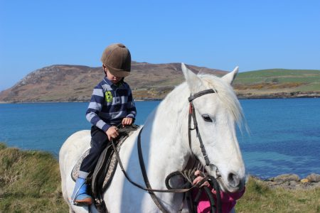 Horse Riding in Cleggan
