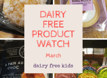 Product Watch March - Aldi Free From Coconut Rounds, M&S Dark Chocolate Lollipops, Costa Cherry Bakewells, Meridian Peanut & Coconut Bars