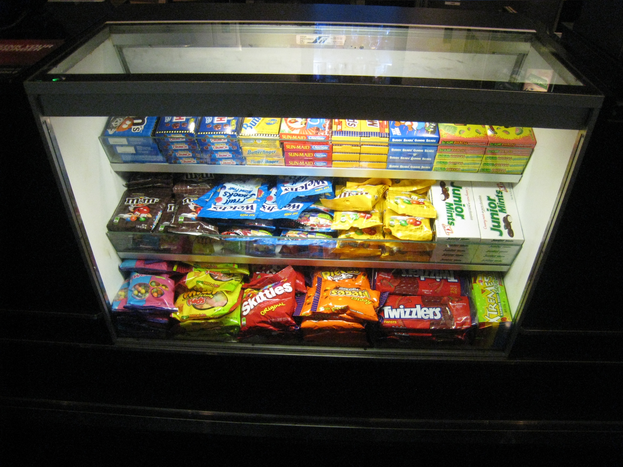 Candy Case At Lincoln Square