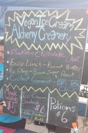 Alchemy Creamery board