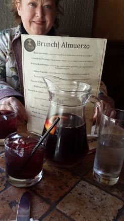 El Paso Restaurant - Sangria and the menu