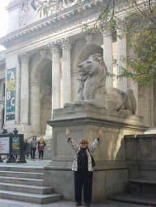 NYPL Schwarzman Building - Therese and the Lion