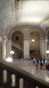 NYPL Schwarzman Building - lobby interior