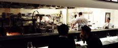 North End Grill's open kitchen