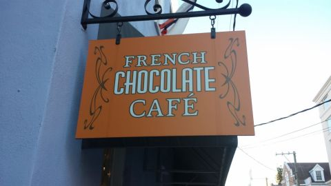 Christophe Chocolatier sign